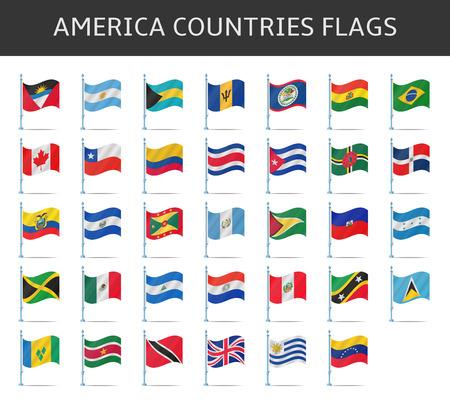 america flag: america flag vector