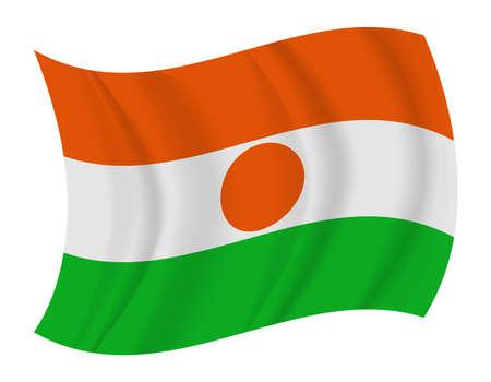 niger: design Niger flag waving vector