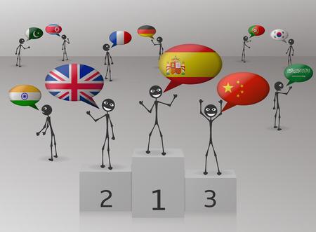 spoken: spanish is the language most spoken