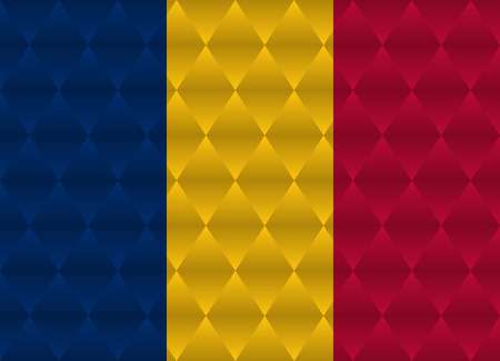 chad low poly flag