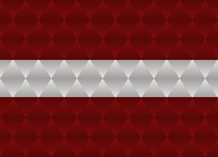 latvia: latvia low poly flag Illustration