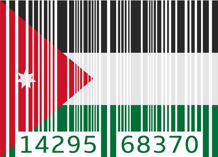 jordan: bar code flag jordan