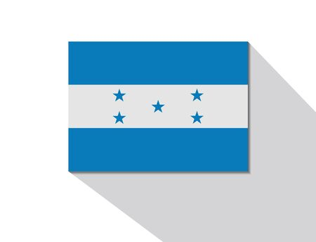 long shadow: honduras long shadow flag