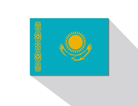 long shadow: kazakhstan long shadow flag