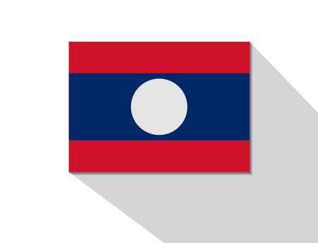 long shadow: laos long shadow flag