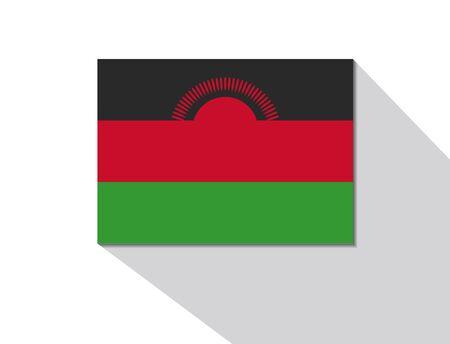 malawi: malawi long shadow flag