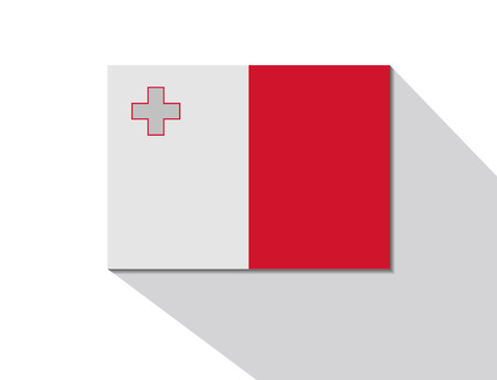 malta: malta long shadow flag