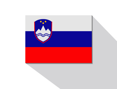 long shadow: slovenia long shadow flag