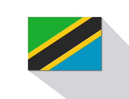 tanzania: tanzania long shadow flag