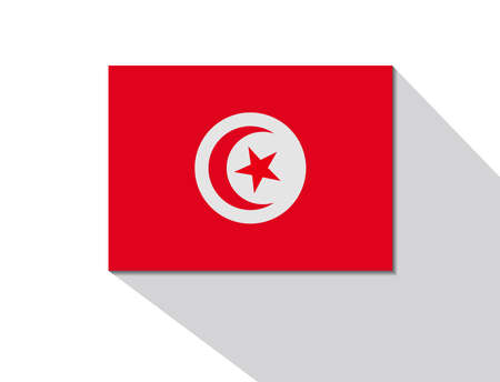 long shadow: tunisia long shadow flag
