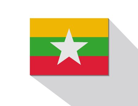 long shadow: burma long shadow flag
