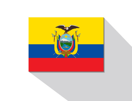 long shadow: ecuador long shadow flag