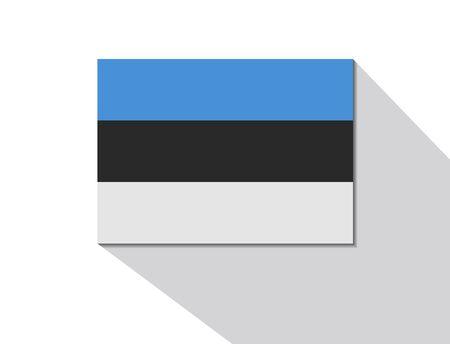 estonia: estonia long shadow flag