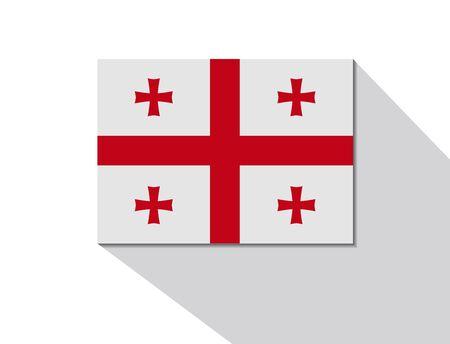 georgia: georgia long shadow flag