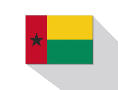 long shadow: guinea bissau long shadow flag