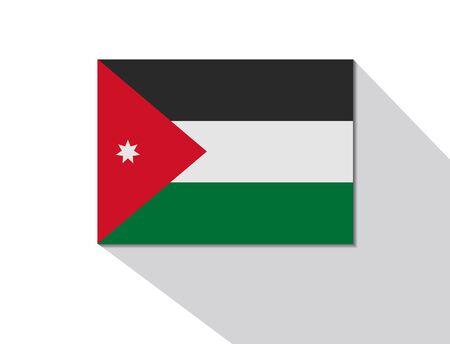 jordanian: jordan long shadow flag