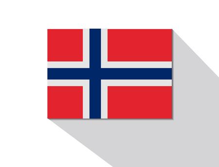 norway: norway long shadow flag