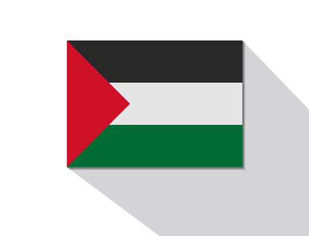 long shadow: palestine long shadow flag
