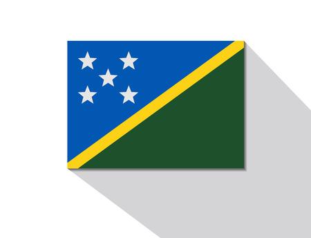 solomon: solomon islands long shadow flag