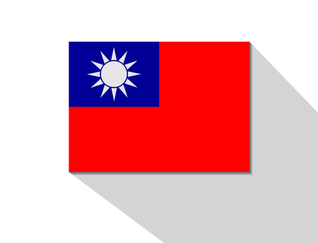 taiwan: taiwan long shadow flag