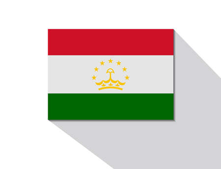long shadow: tajikistan long shadow flag