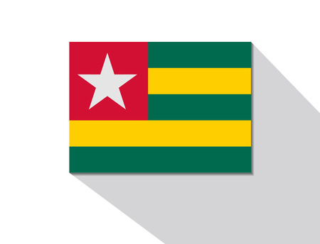 togo: togo long shadow flag
