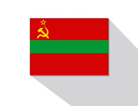 long shadow: transnistria long shadow flag