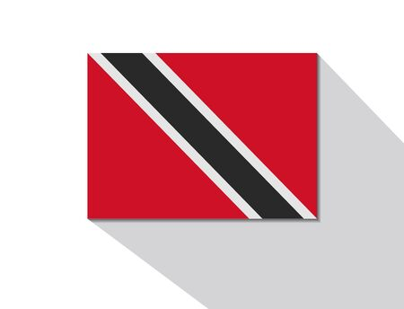 trinidad and tobago: trinidad and tobago long shadow flag
