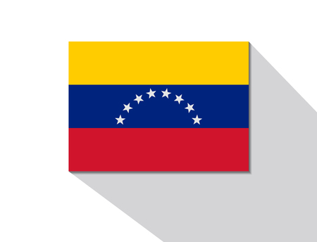 venezuela: venezuela long shadow flag