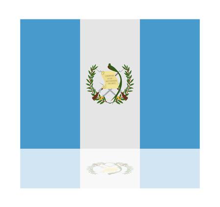 reflection: reflection flag guatemala