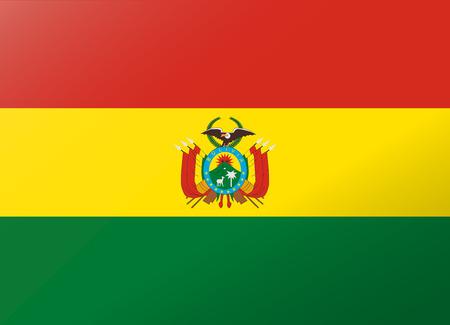 reflectie vlag Bolivia