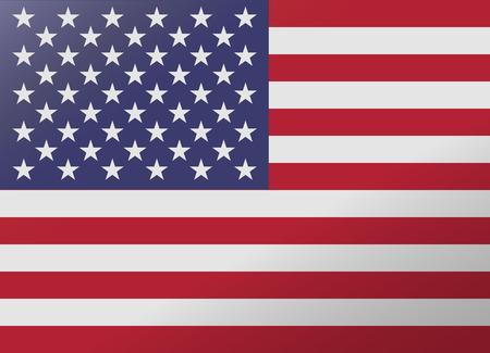 bandiera stati uniti: bandiera riflessione stati uniti