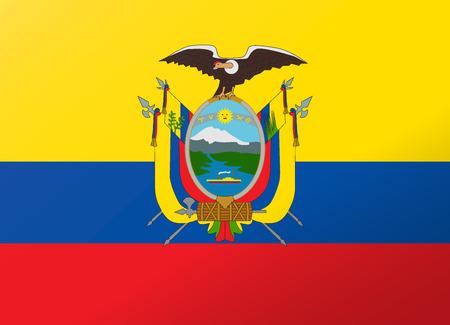 reflection: reflection flag ecuador