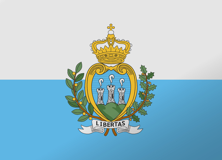 reflection flag san marino