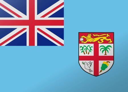 fiji: reflection flag fiji