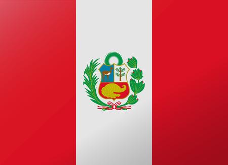 reflection flag peru
