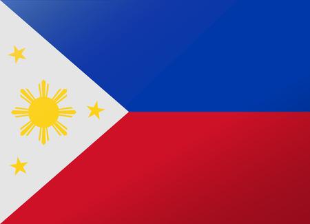 reflectie vlag Filippijnen