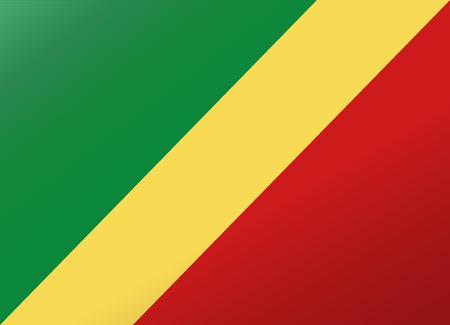 republic of the congo: reflection flag republic congo