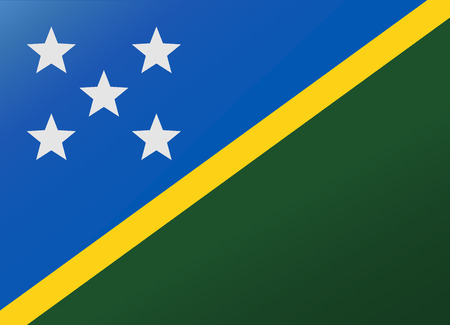 reflection: reflection flag solomon islands