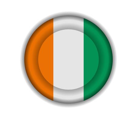 coast: button flags ivory coast