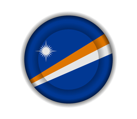 marshall: button flags marshall islands