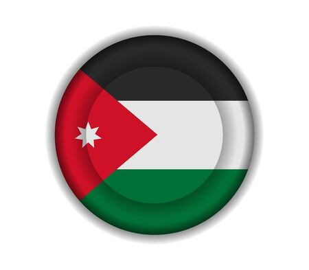 jordanian: knop vlaggen jordan