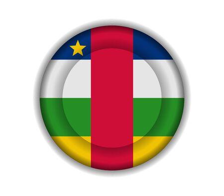 central: knop vlaggen Centraal-Afrikaanse