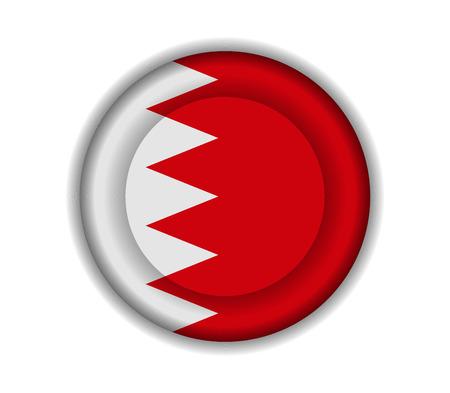 bahrain: button flags bahrain