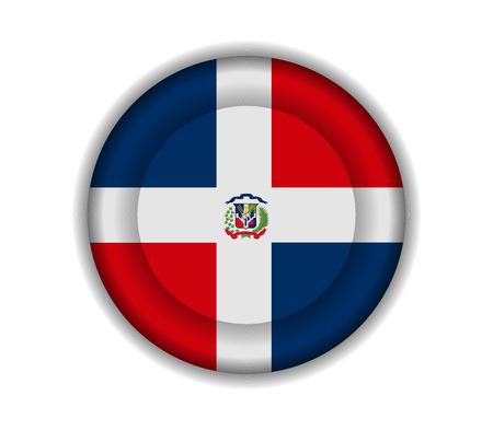 rep: button flags dominican rep