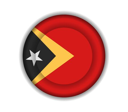 timor: button flags east timor