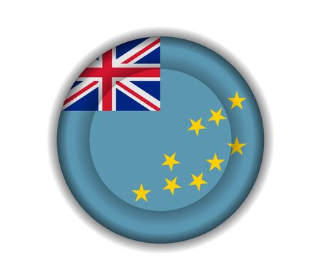 tuvalu: button flags tuvalu