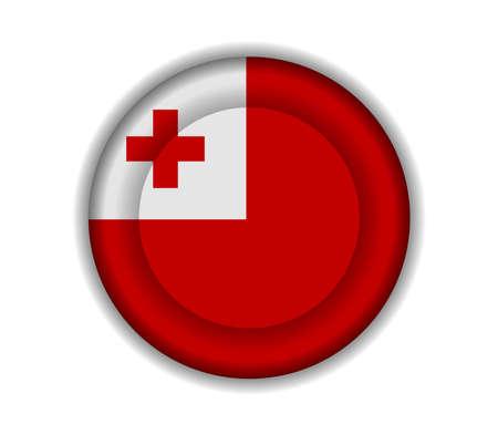 tonga: button flags tonga