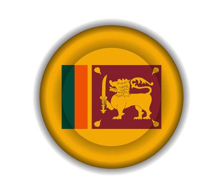 lanka: button flags sri lanka