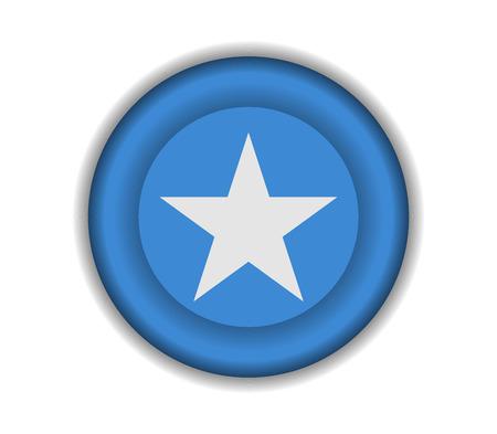 somalia: button flags somalia